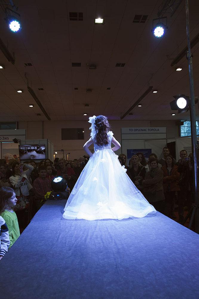 Modna revija na Sajmu venčanica u Kragujevcu