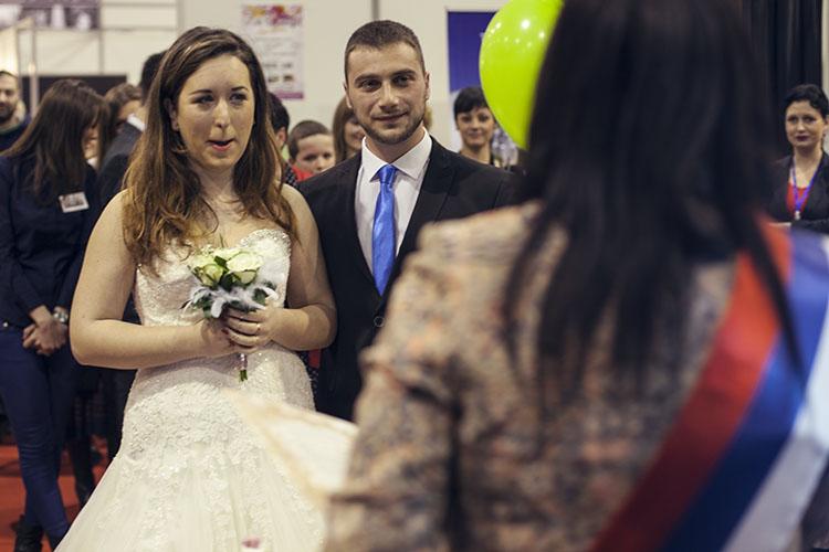 Iznenađenje na Sajmu venčanja