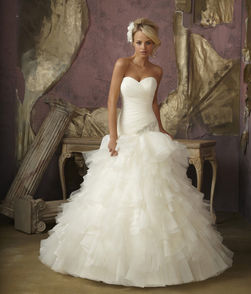 mori lee vencanica Bridal